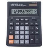 Калькулятор настольный SKAINER SK-444L, 12 разрядный., пластик, 157x200x32мм, черный (10/40) (SK-444
