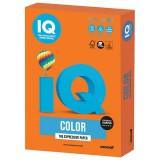 Бумага IQ COLOR A4 250л/пач 120 гр интенсив оранжевая (OR43) (110770)