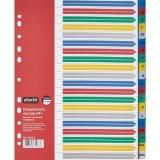 Разделитель А4+ ATTACHE SELECTION, 20 листов, А-Я, цветной пластик (353661)