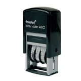 Датер мини TRODAT, пластиковый, 3,8мм дата букв (1) (4810) (010941)