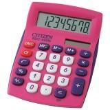 Калькулятор настольный CITIZEN SDC-450NPKCFS 8-разрядный, 120х87х22, розовый (SDC-450NPKCFS)
