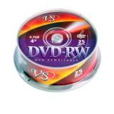 Диск VS DVD-RW 4.7 GB 4xCB/25 (цена за 25шт) (14 000 097)