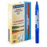 Маркер для флипчартов CENTROPEN, синий, 2,5 мм (10/1000) (8550/1 С)