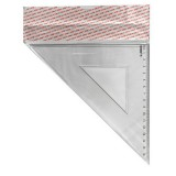 Треугольник ACTION! 16см*45., прозрачный, пластиковый (APR16/45/TR) (C21910)