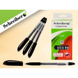 Ручка гелевая SCHREIBER, черная (24/720) (S 486)