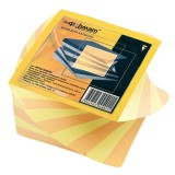 Блок цветной бумаги для заметок inФОРМАТ, 80х80х50мм, 80гр., спираль, проклеенный (24) (NPS2-808050)