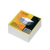 Блок белой бумаги для заметок inФОРМАТ, 90х90х50мм, 80гр., куб, не проклеенный (18) (NPNW-995) (0611