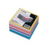 Блок цветной бумаги для заметок inФОРМАТ, 90х90х50мм, 80гр., куб, проклеенный (42) (NPG4-909050) (03