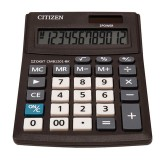 Калькулятор настольный CITIZEN CMB1201BK, 12-разряный, 2 питания, 136х100х32 (CMB1201BK)