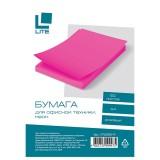 Бумага LITE A4 50л/пач 70 гр неон розовый (CPL50NE-Pi) (176662)