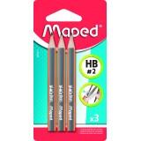 Набор карандашей д/черчения MAPED, ударопроч. (850211) (134196)