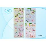 Закладки бумажные BASIR