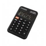 Калькулятор карманный CITIZEN LC-110NR 8-разрядный, питание от бат, 58х88х11 мм, черный (LC-110NR)