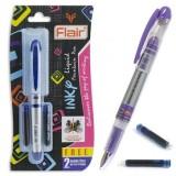 Чернильный патрон для перьевых ручек FLAIR, синий (3/30/600)  (F-ЧП1105син.)