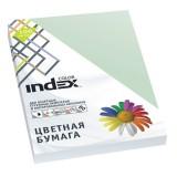 Бумага INDEX COLOR A4 100л/пач 80 гр, бледно-зеленый (IC61/100) (A29514)