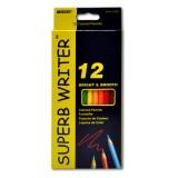 Карандаши цветные MARCO Superb Writer 12цв., шестигранные (12/240) (4100-12СВ)