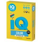 Бумага IQ COLOR A4 250л/пач 160 гр Интенсив ярко-желтая (IG50) (110776)