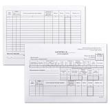 Карточка складского учета, форма М-17 А5/50/офсетЦЕНА ЗА 50ШТ (130138)