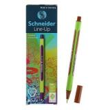 Линер SCHNEIDER LINE-UP, 0,4 мм,светло-коричневый(10/500) (191007)
