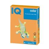 Бумага IQ COLOR A4 500л/пач 80 гр оранжевый  неон (NEOOR) (176556)