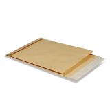 Конверт-пакет C4 КУРТ, 229х324х40мм, 130 гр. объемный, с отрывной лентой, Крафт (ЦЕНА ЗА 1ШТ) (12173
