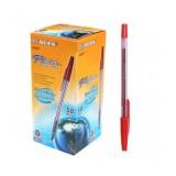 Ручка шариковая BEIFA, красная (50/4000) (BE-AA927/кр) (029023)