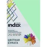 Бумага INDEX COLOR A4 100л/пач 80 гр, светло-зеленый (IC65/100) (00-00019697)