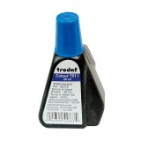 Краска штемпельная TRODAT, 28мл, синяя (1/10) (7011/с) (012304)
