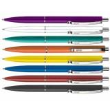 Ручка шариковая автоматическая SCHNEIDER K 15 , ассорти,синяя (130821)