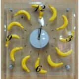 Часы настенные кварцевые ФЕНИКС-ПРЕЗЕНТ,  с циферблатом из стекла, без элемента питания (300*300*44)