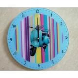 Часы настенные ФЕНИКС-ПРЕЗЕНТ,  из стекла  (30*30 см) (1/8) (27794)