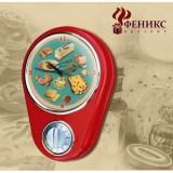 Кухонные настенные часы ФЕНИКС-ПРЕЗЕНТ