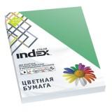 Бумага INDEX COLOR A4 100л/пач 80 гр, изумрудно-зеленый (IC68/100) (A29519)