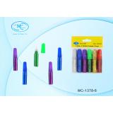 Гель BASIR с блёстками, 6 цветов по 6 мл (6/500) (МС-1378-6)