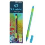 Линер SCHNEIDER LINE-UP, 0,4 мм, лазурный (голубой)  (10/500) (191010)