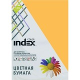 Бумага INDEX COLOR A4 100л/пач 80 гр, золотой (IC58/100) (00-00019689)
