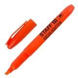 Маркер текстовый STAFF, 1--3мм, скошенный, оранжевый (151240)