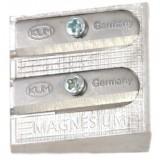 Точилка KUM двойная, клиновидная из магнезия (70) (K-410) (K-1040501) (NE1040501)