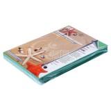 Обложки для переплета А4 РЕАЛИСТ, 230г/м2, зеленые, картонные, кожа (ЦЕНА ЗА 100 ШТ) (3911)
