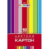 Набор цветного картона А4 ХАТБЕР