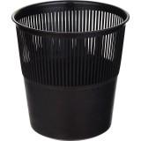 Корзина для бумаг NONAME, 10л., черная (1/16) (325533)