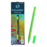 Линер SCHNEIDER LINE-UP, 0,4 мм, неоновый-зеленый (10/500) (191063)