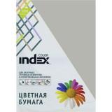 Бумага INDEX COLOR A4 100л/пач 80 гр, серый (IC94/100) (00-00019698)