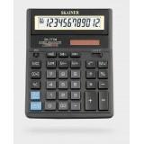 Калькулятор настольный SKAINER SK-777M, 12 разрядный., пластик, 157x200x32мм, черный (10/40) (SK-777