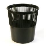 Корзина для бумаг УНИПЛАСТ, 10л., сетчатая, черная (022038)