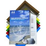 Обложки для переплета А4 РЕАЛИСТ, 200мкм, кристалл, прозр., ПВХ (ЦЕНА ЗА 100 ШТ) (4377)