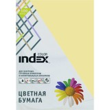 Бумага INDEX COLOR A4 100л/пач 80 гр, бежевый (IC54/100) (00-00019684)