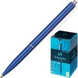 Ручка шариковая SCHNEIDER K 15 , ассорти, со штрих-кодом, синяя (1/50/500) (130800)