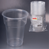 Одноразовый стакан ЛАЙМА, 500 г. (20шт/уп) (600939)
