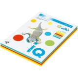 Бумага IQ COLOR MIX A4 250л/пач 80 гр 5 цветов интенсив (IQ-80-RB02) (176270)